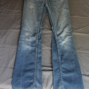 American Eagle Light Wash Bootcut Stretch Jean